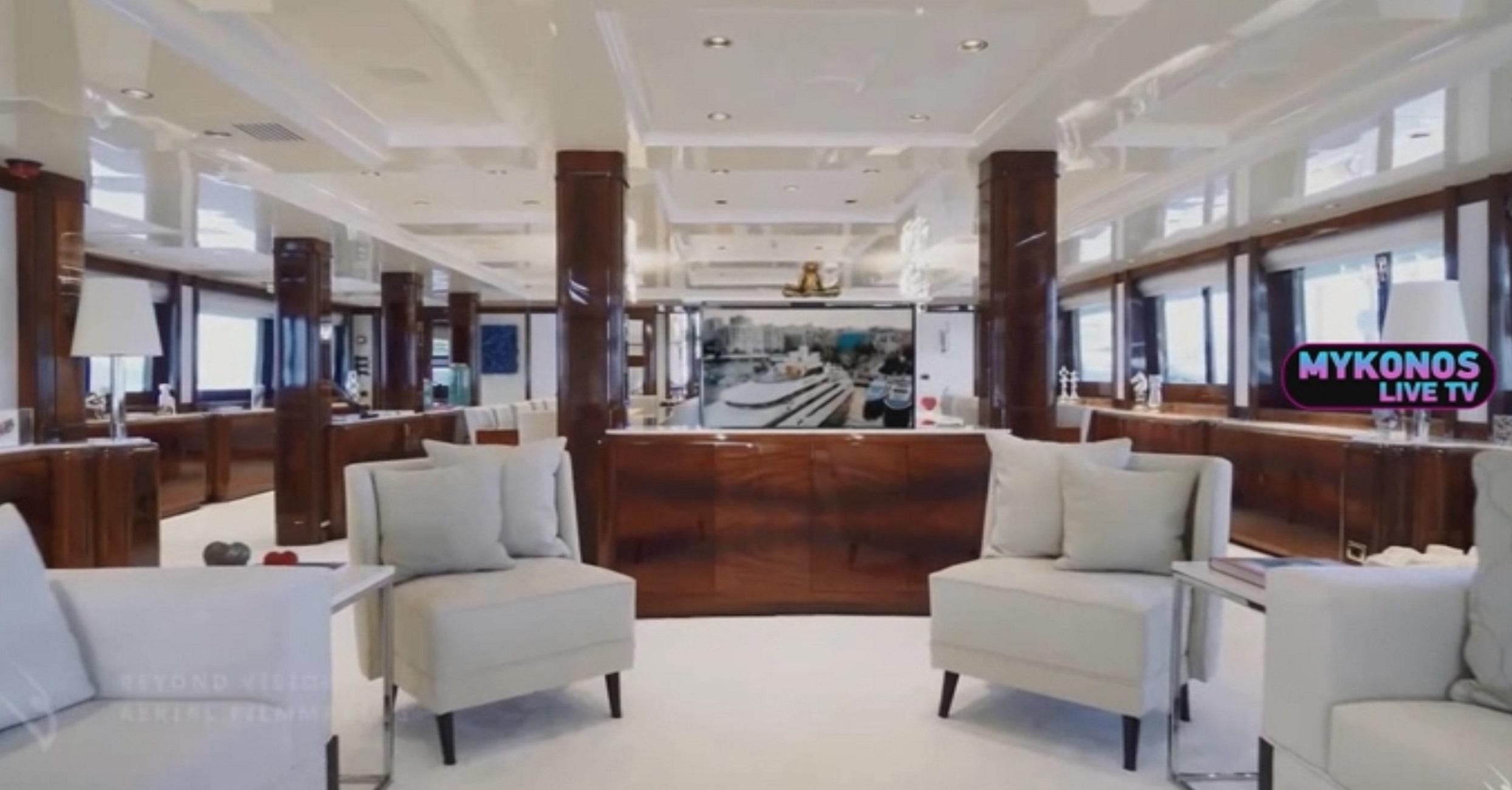 Μύκονος: Μέσα στο πλωτό παλάτι που θάμπωσε τους πάντες! Ενοικιάζεται προς 550.000 ευρώ την εβδομάδα (Βίντεο)