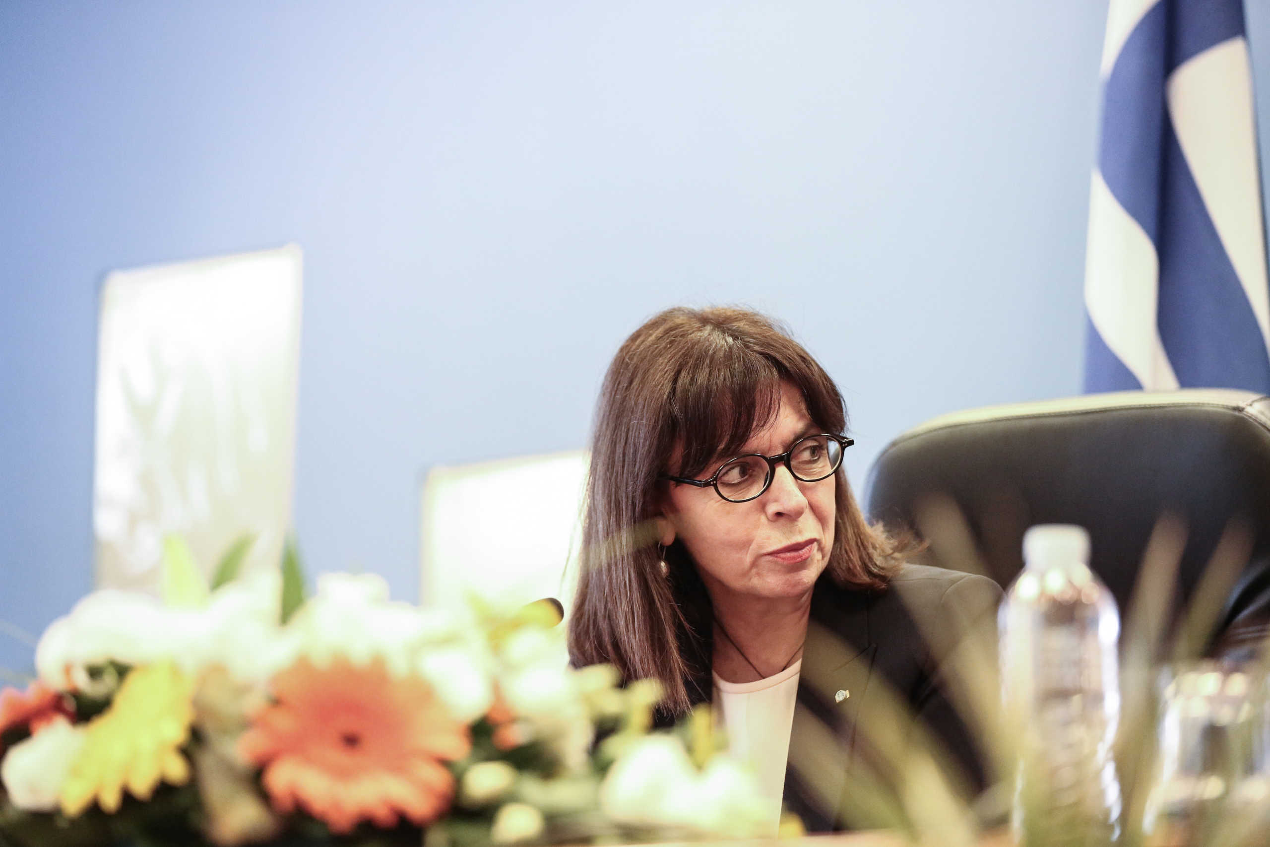 Σακελλαροπούλου στο Οικονομικό Φόρουμ Δελφών: «Η Ελλάδα κέρδισε τον σεβασμό της διεθνούς κοινής γνώμης»