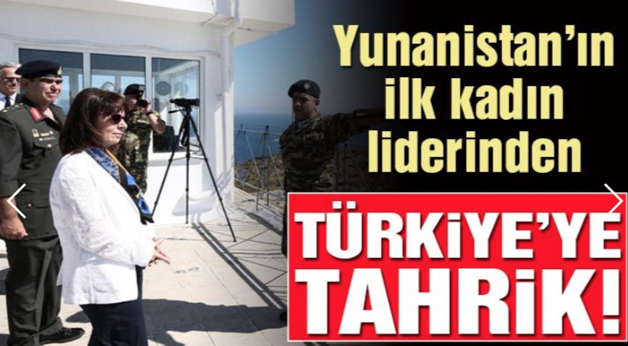 Επίθεση από τα τουρκικά ΜΜΕ στην Πρόεδρο της Δημοκρατίας – Δικό μας έδαφος το Αγαθονήσι γράφει ο Τουρκικός Τύπος