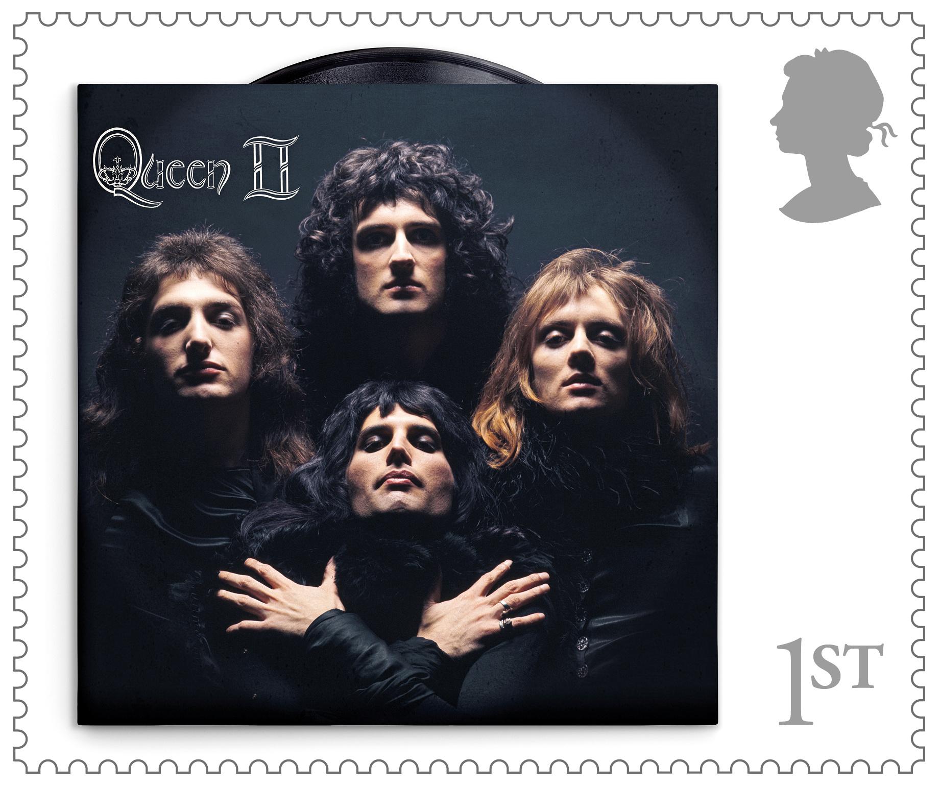 Οι Queen έσπασαν την παράδοση και έγιναν γραμματόσημο στην θέση της Βασίλισσας (pics)