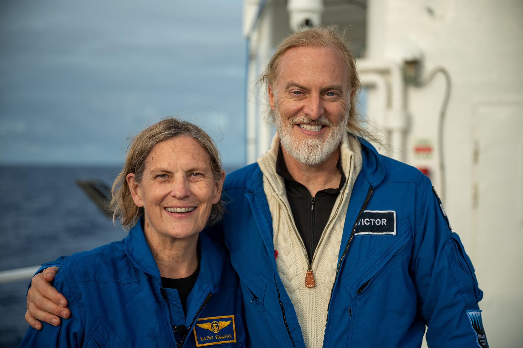 Απίστευτη! Η πρώτη γυναίκα στο διάστημα, έγινε και η πρώτη… και στο βαθύτερο σημείο των ωκεανών! (pic)