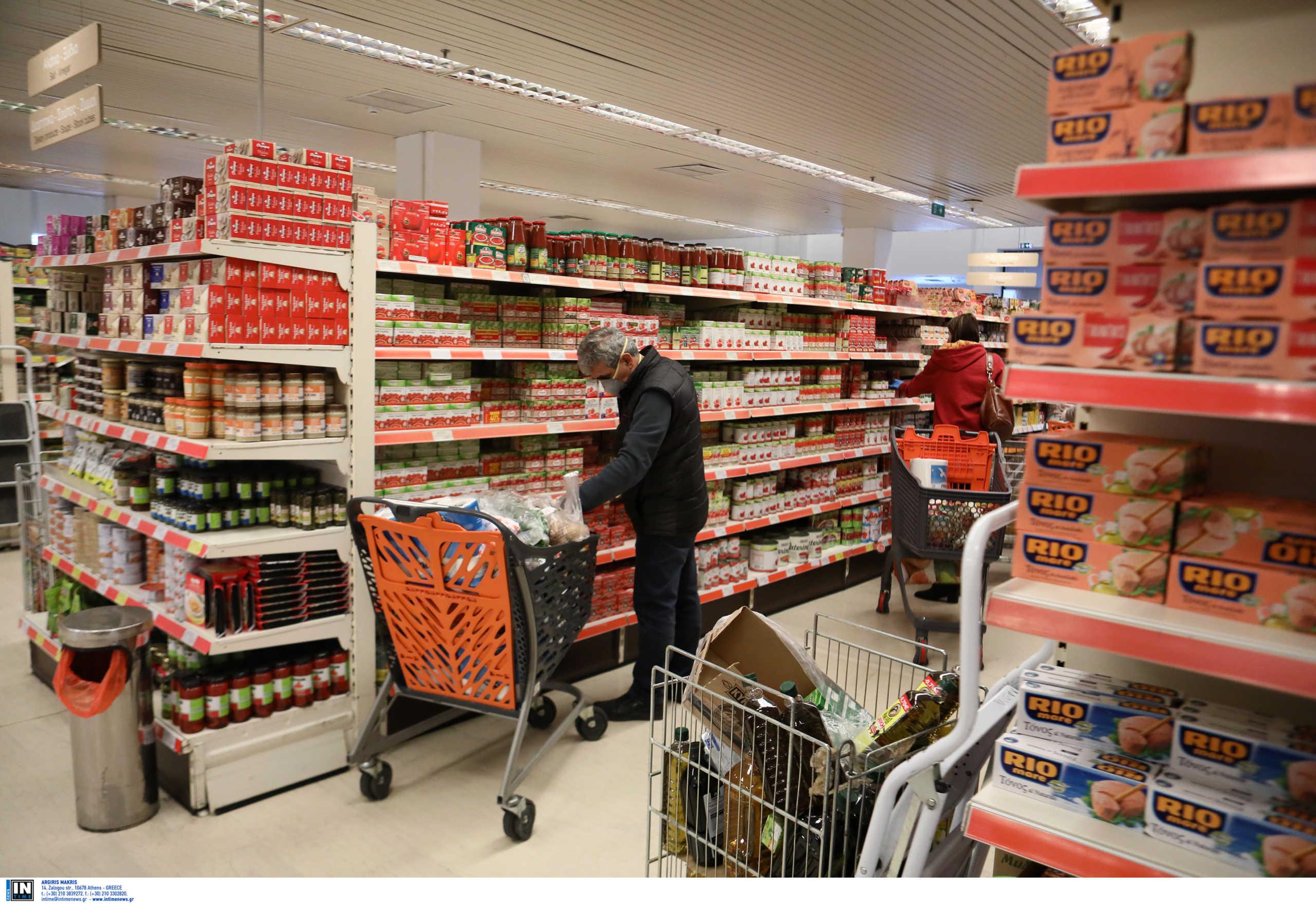 Πτώση 24,8% στο λιανικό εμπόριο τον Απρίλιο λόγω του lockdown – «Διασώθηκαν» τα σούπερ μάρκετ
