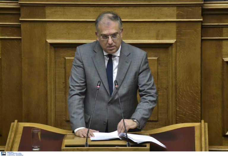 Θεοδωρικάκος: «Ενίσχυση 1,2 εκατ. ευρώ για τους πληγέντες δήμους της Εύβοιας»