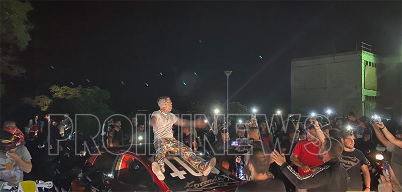 Καβάλα: Το αδιαχώρητο σε γύρισμα βίντεοκλιπ του TUS! Ήρθαν και… από Δράμα και Ξάνθη (pics)