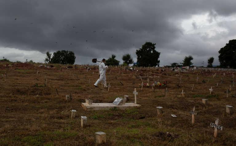 Βραζιλία: 1.800 θάνατοι από κορονοϊό το τελευταίο 24ωρο – Φόβοι για 3.000 νεκρούς τη μέρα