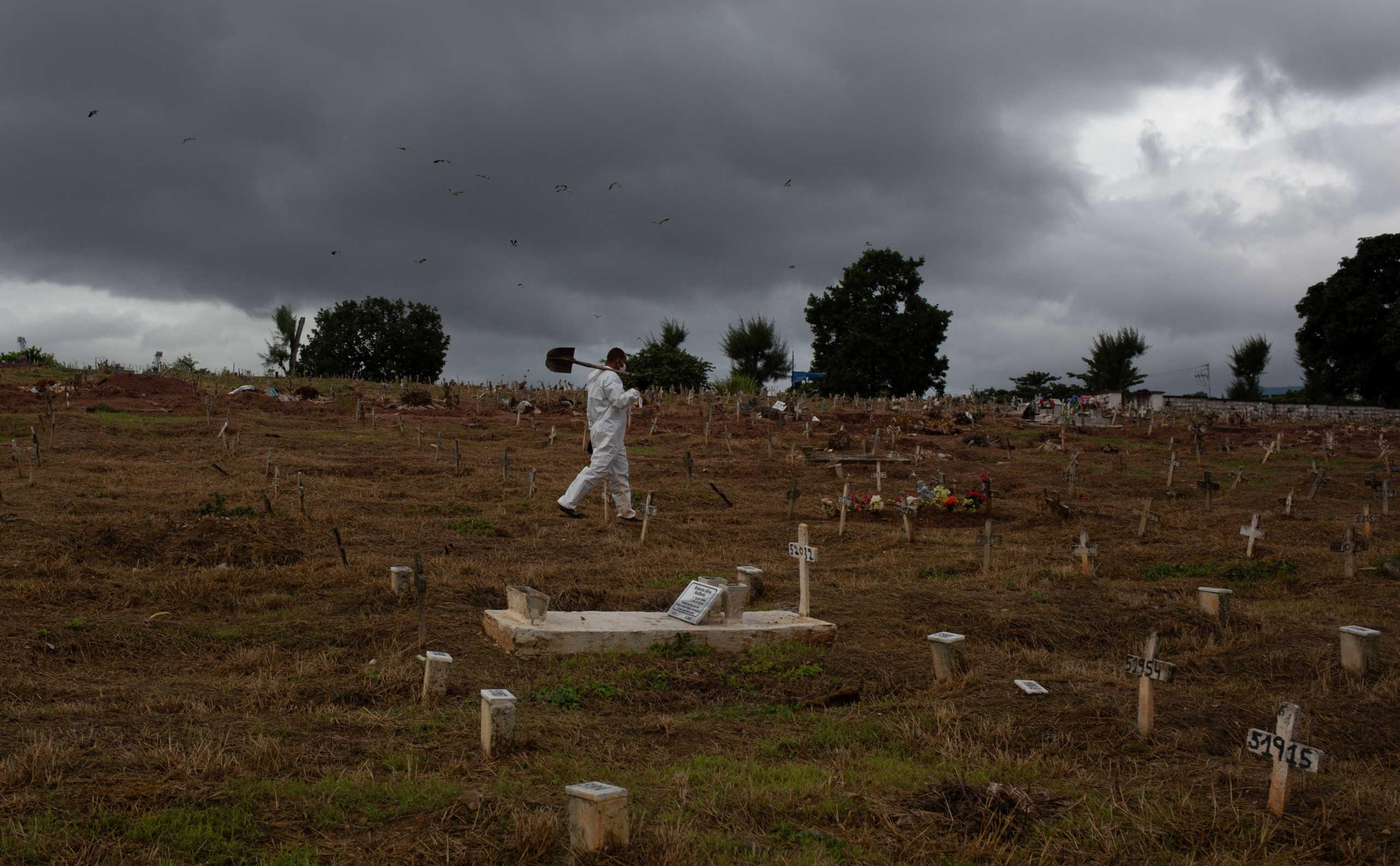 Βραζιλία: Άλλο ένα μακάβριο ρεκόρ με 3.780 θανάτους από κορονοϊό σε ένα 24ωρο