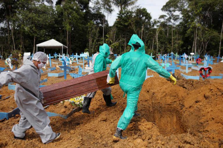 Βραζιλία: Καμία βελτίωση! Αλλοι 1.233 άνθρωποι νεκροί από κορονοϊό