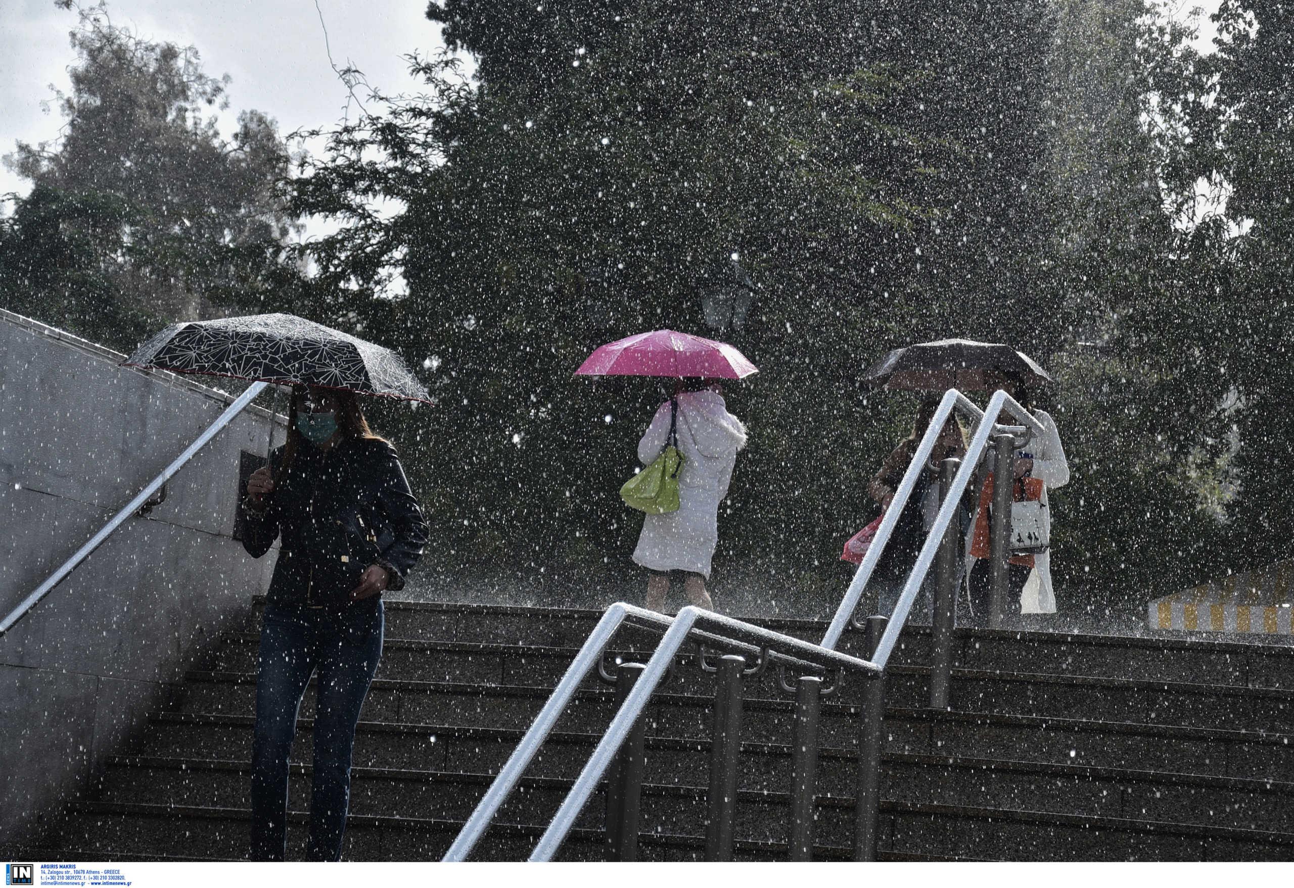 Καιρός σήμερα: Συννεφιασμένη Κυριακή – Σε ποιες περιοχές θα βρέχει και πού θα χιονίζει