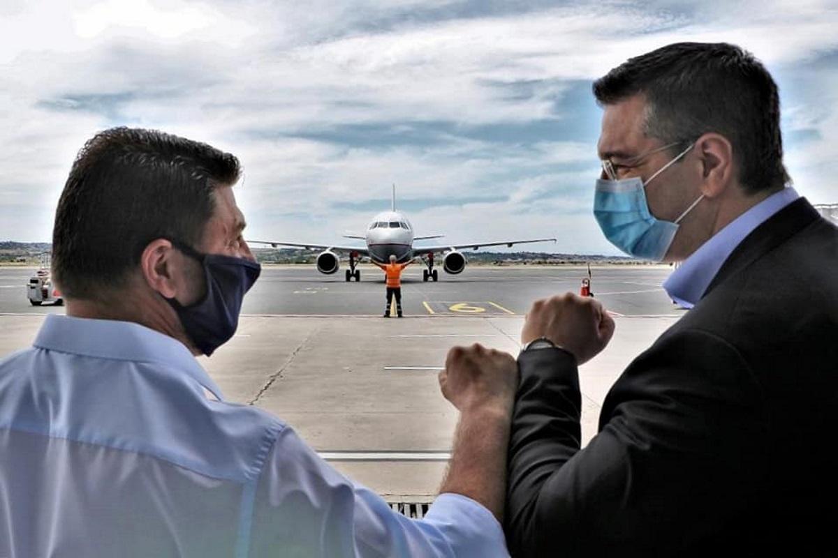 Χαρδαλιάς στο αεροδρόμιο Μακεδονία: Η Ελλάδα είναι ασφαλής