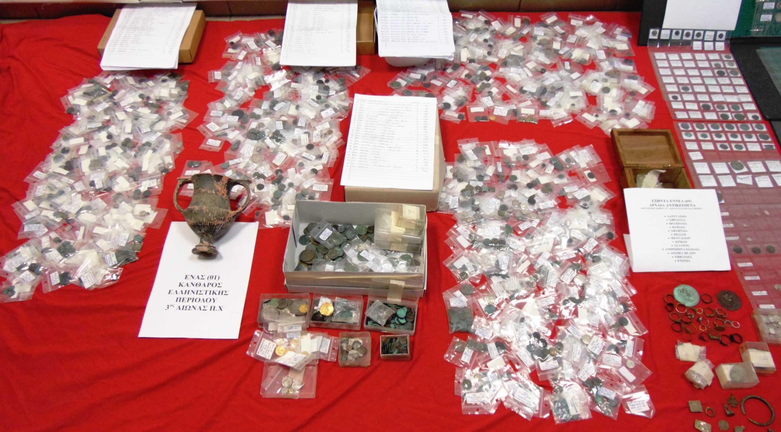 Δράμα: Αρχαιολογικός θησαυρός στο σπίτι λογιστή! Οι εικόνες που ξεσκέπασε η αστυνομική επιχείρηση (Φωτό)