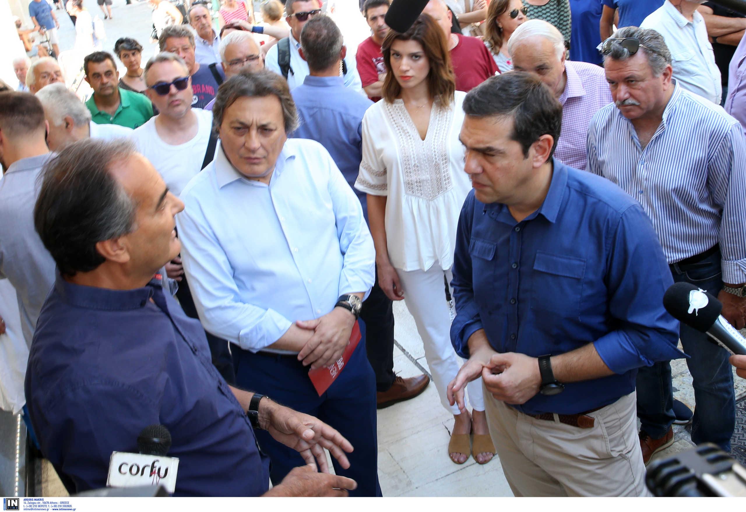 Κέρκυρα: Ο Τσίπρας έπεσε πάνω σε διαμαρτυρία ξεναγών! Η επίσκεψη και η πρώτη βόλτα στο νησί (Φωτό)