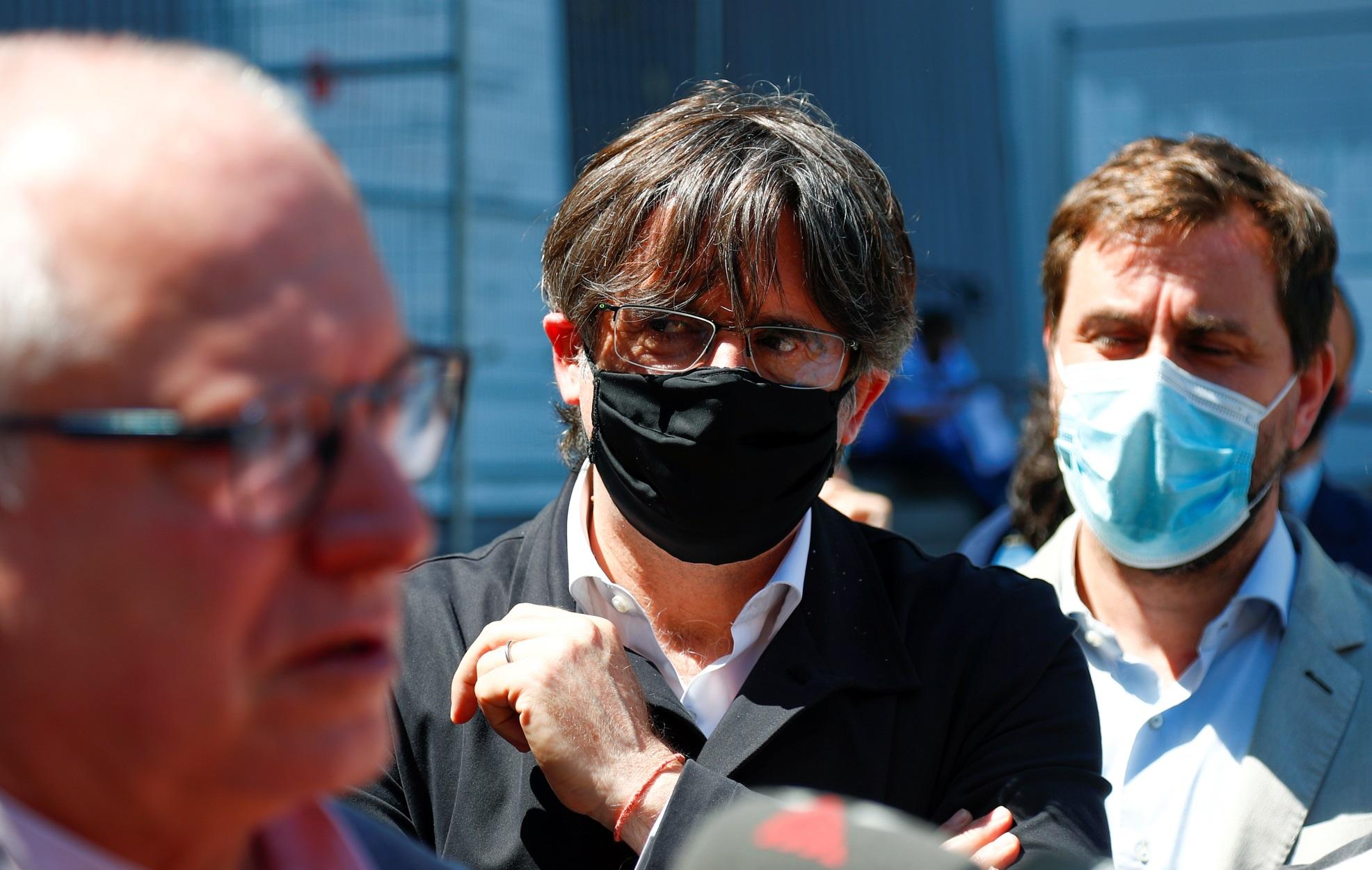 """Καταλονία: """"Μία μέσα – δύο έξω"""" για τους φυλακισμένους αυτονομιστές"""
