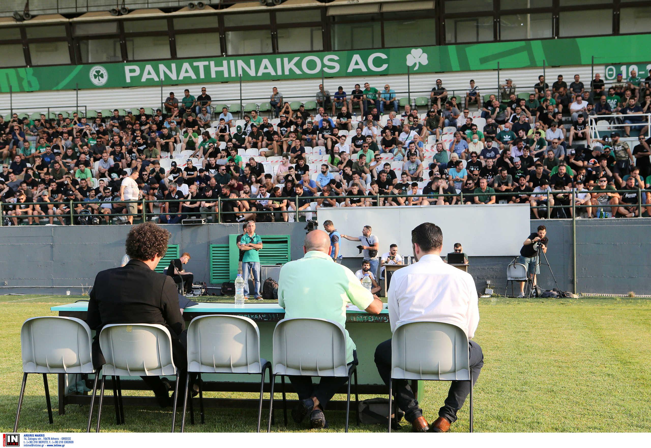 Παναθηναϊκός: Ένταση και αποδοκιμασίες για Γιαννακόπουλο στη Γ.Σ του Ερασιτέχνη (pics)