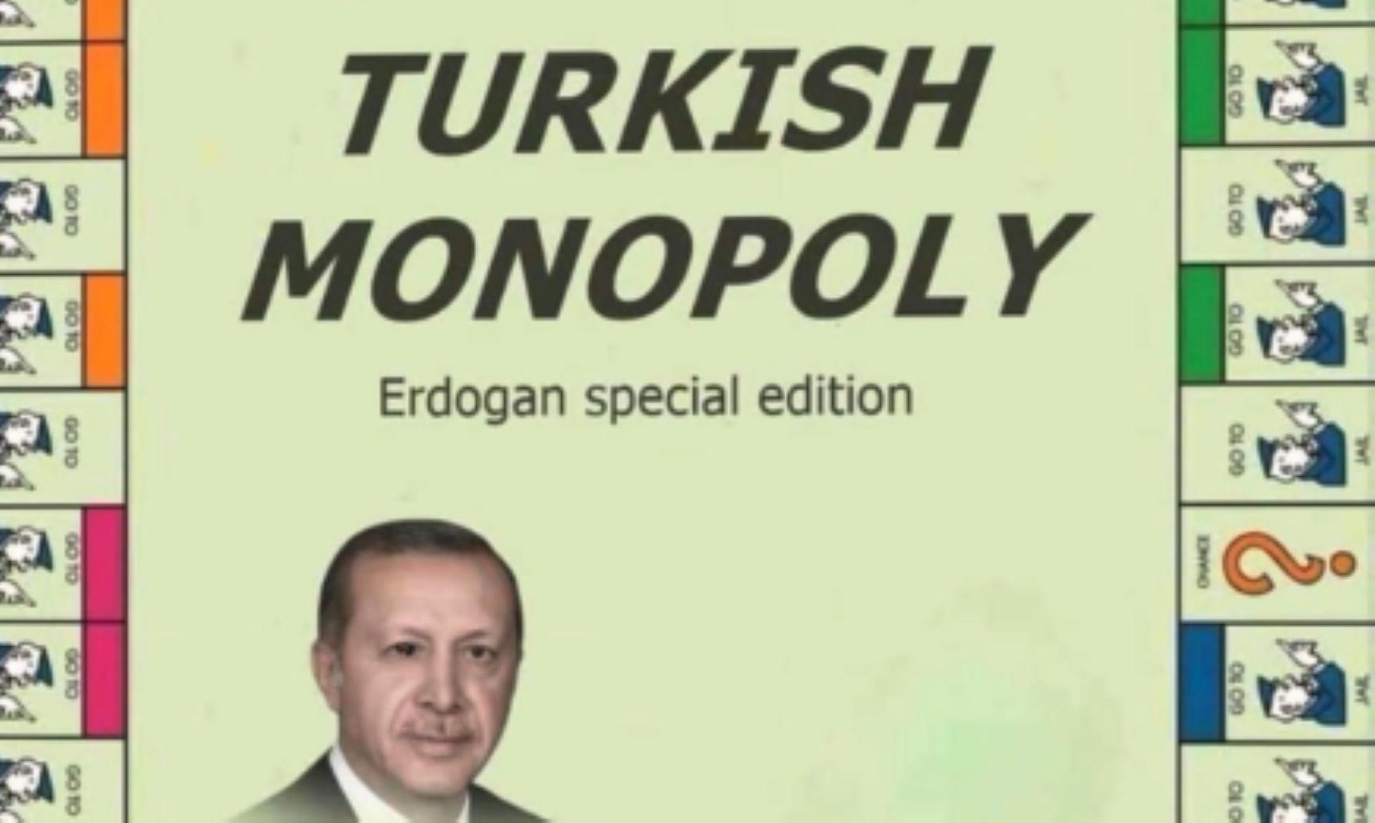 """""""Άγριο"""" τρολάρισμα Καντέρ σε Ερντογάν με…τουρκική Monopoly (pic)"""