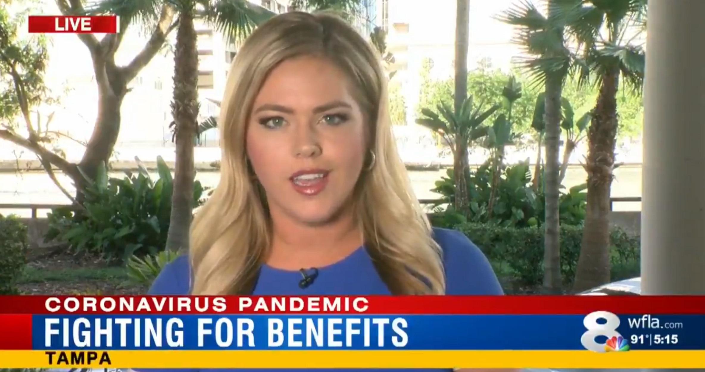 """Φλόριντα: Παρατηρητική τηλεθεατής έσωσε τη ζωή παρουσιάστριας – """"Πρόσεχε, έχεις καρκίνο"""" (pics, video)"""