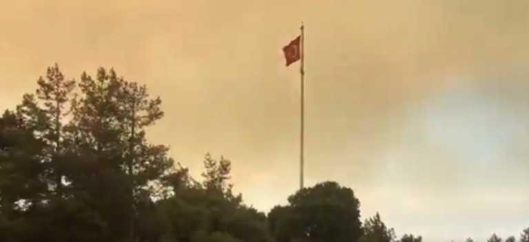 Χερσόνησος Καλλίπολης: Μεγάλη φωτιά - Έκλεισαν τα Δαρδανέλια (pics, video)