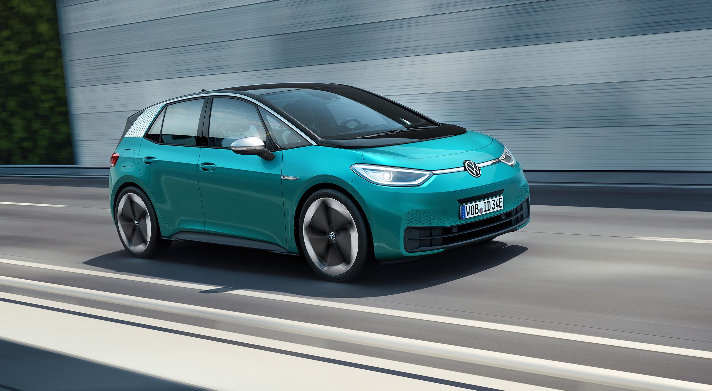 Πόσο κοστίζει το ηλεκτρικό Volkswagen ID.3 στη χώρα μας; [pics]