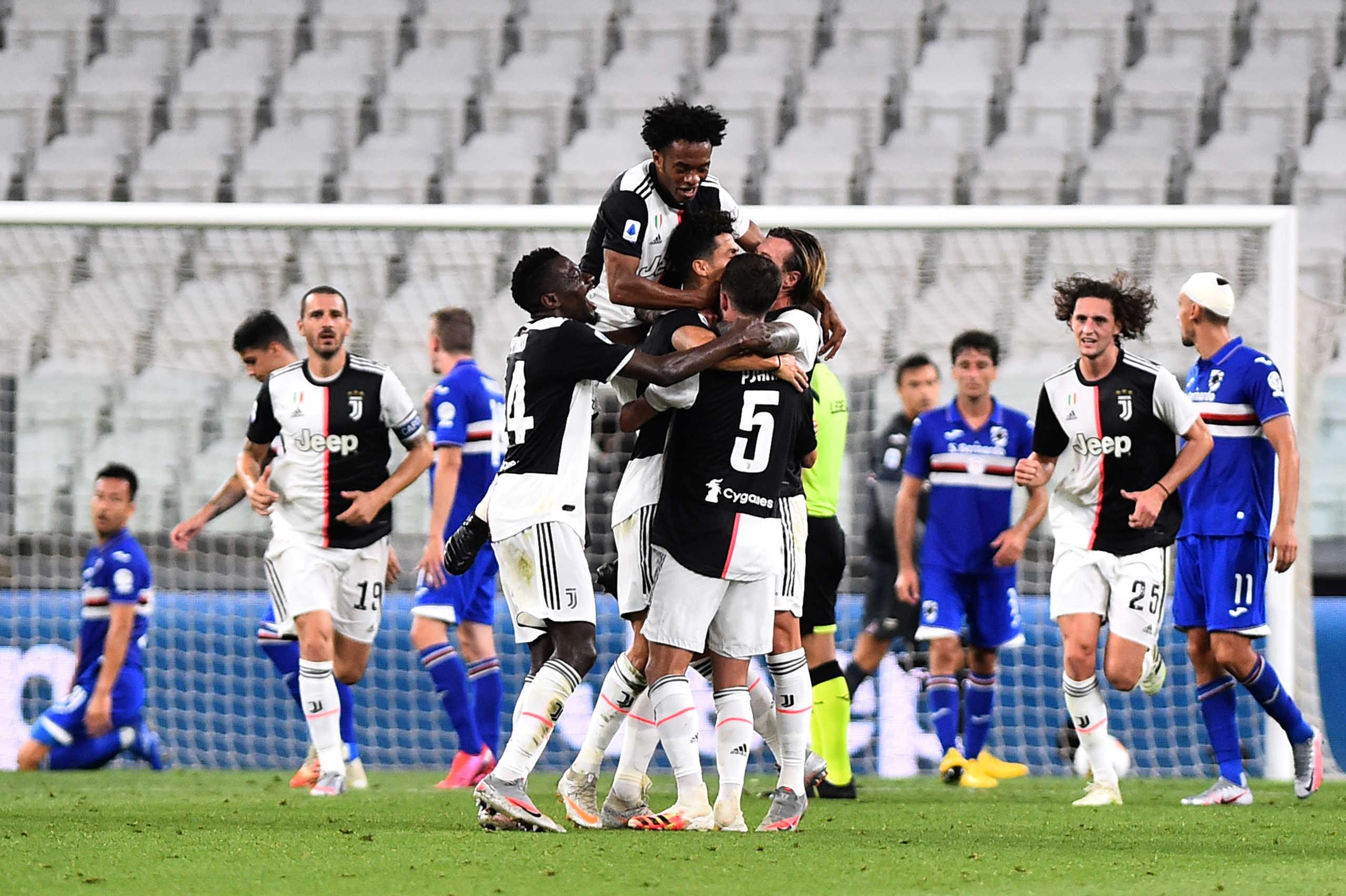 """""""Μυθική"""" Γιουβέντους! """"Σφράγισε"""" τον 9ο σερί τίτλο στη Serie A"""