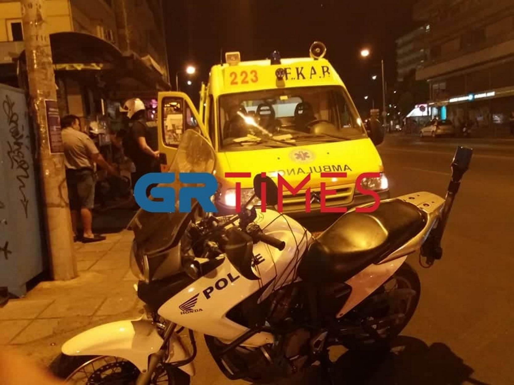 """Σοκ στη Θεσσαλονίκη: Νεκρός σε στάση λεωφορείου – """"Σφάδαζε και φώναζε βοήθεια"""" (pics)"""
