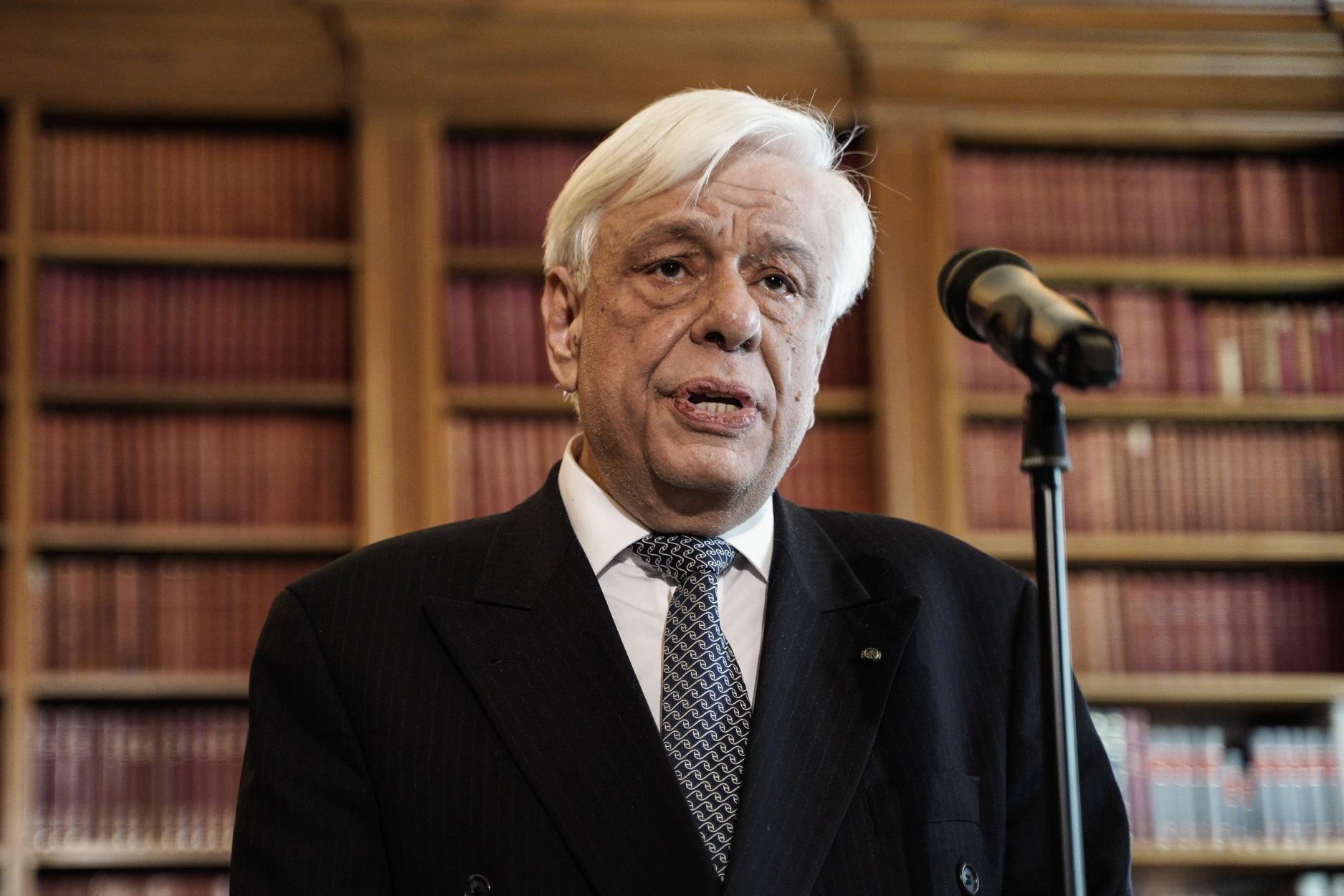 Παυλόπουλος: Η γερμανική πολιτική λιτότητας «φρένο» στην Ευρωπαϊκή Ολοκλήρωση