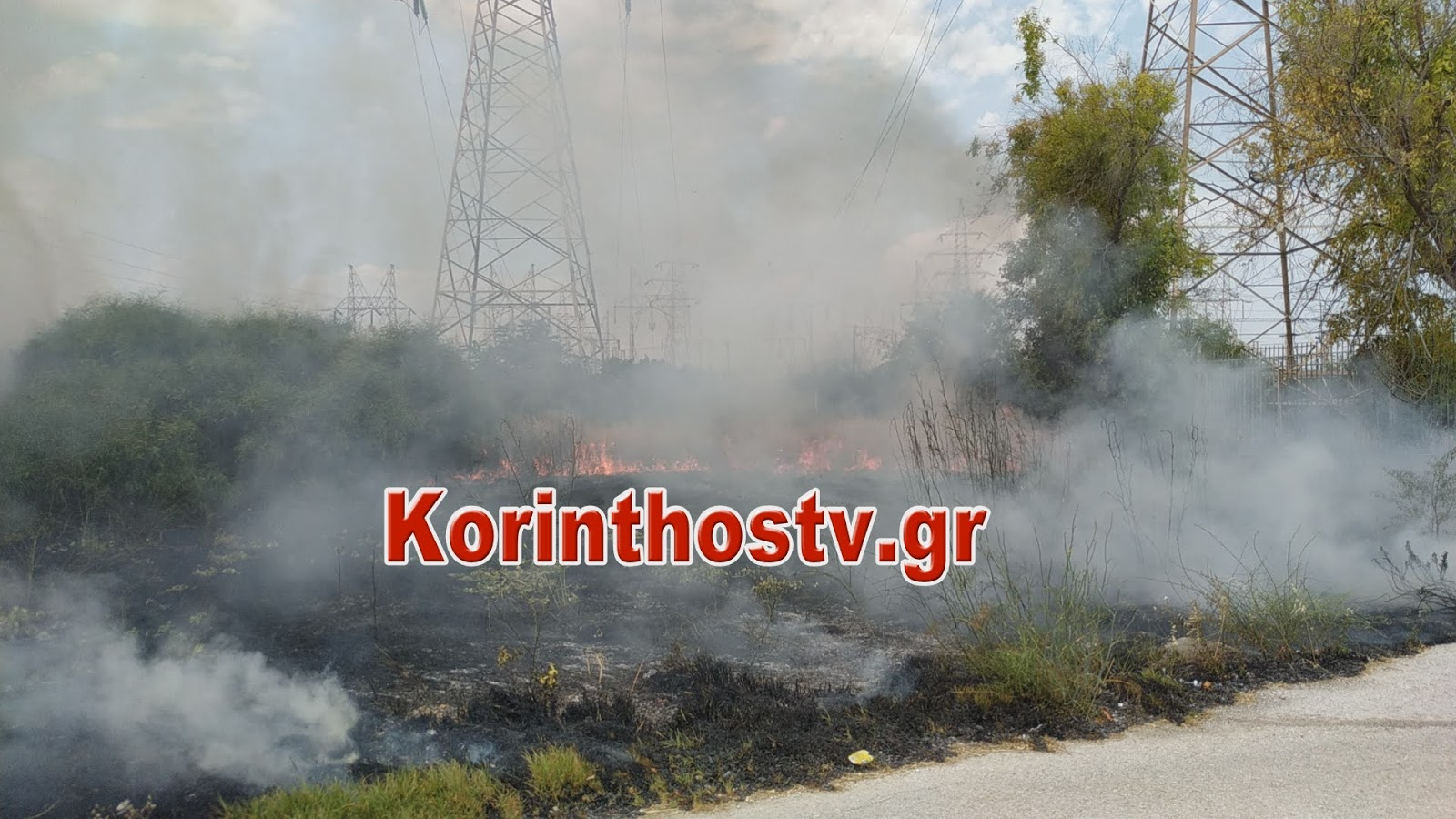 Κόρινθος: Συναγερμός για φωτιά κοντά σε σπίτια! Αυτοψία στο σημείο που επιχειρούν οι Πυροσβέστες (Βίντεο)