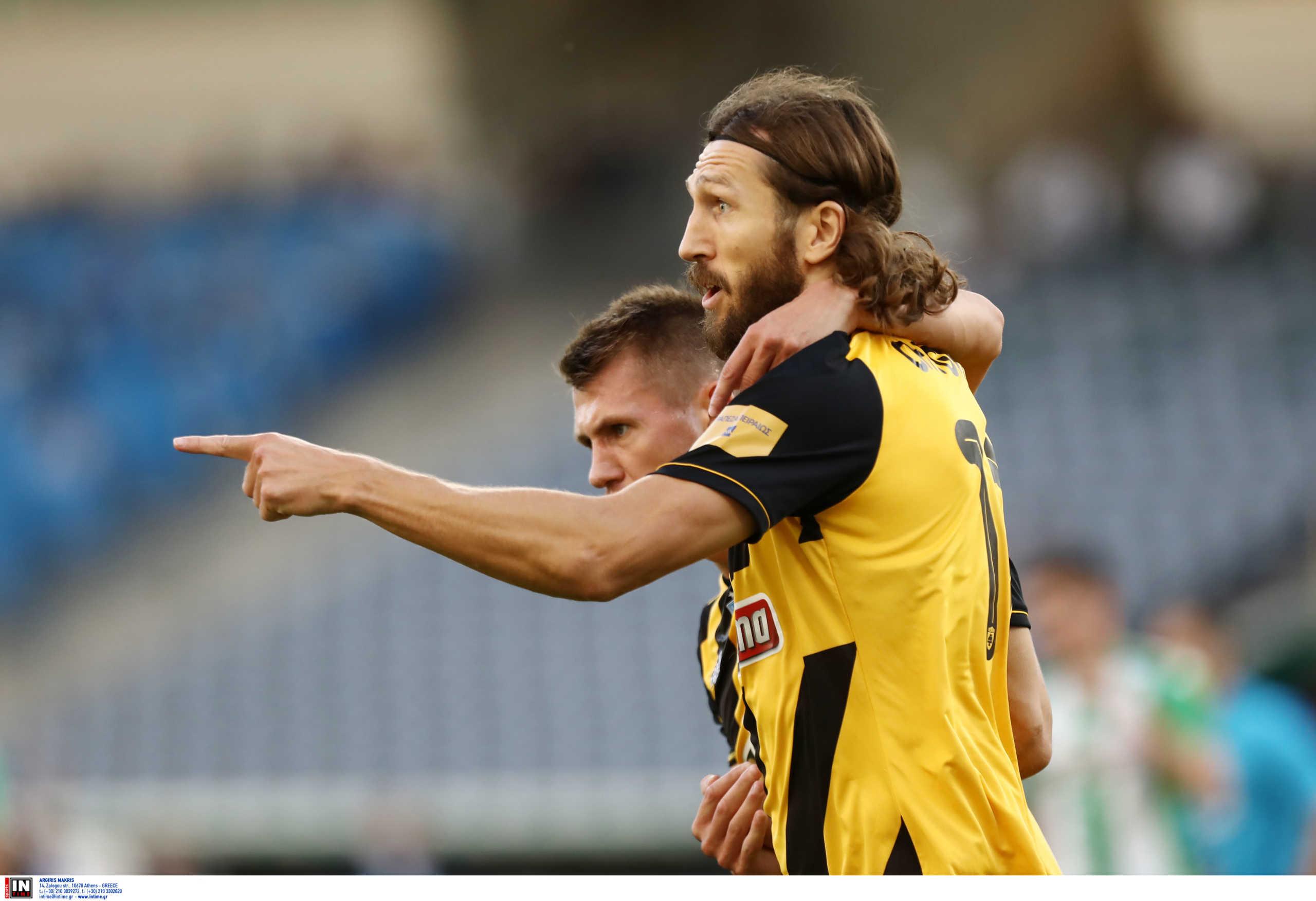 Η ΑΕΚ θέλει να δώσει στον Τσιγκρίνσκι πόστο στην ομάδα
