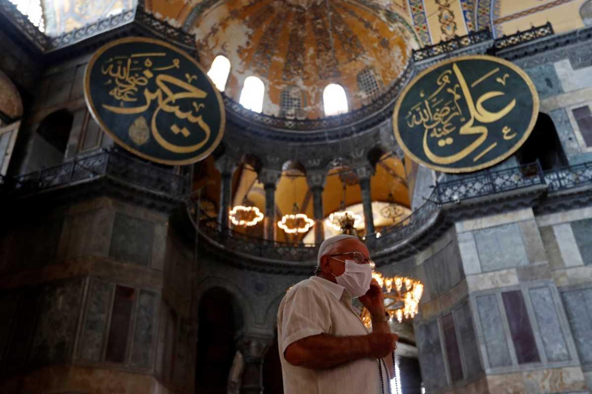 Τουρκία: 1.984 κρούσματα κορονοϊού και 74 θάνατοι το τελευταίο 24ωρο
