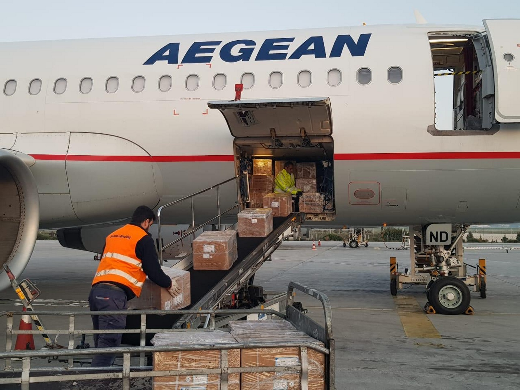AEGEAN: 48.000 ταξίδια για 24.000 εργαζόμενους των νοσοκομείων αναφοράς κατά του κορονοϊού