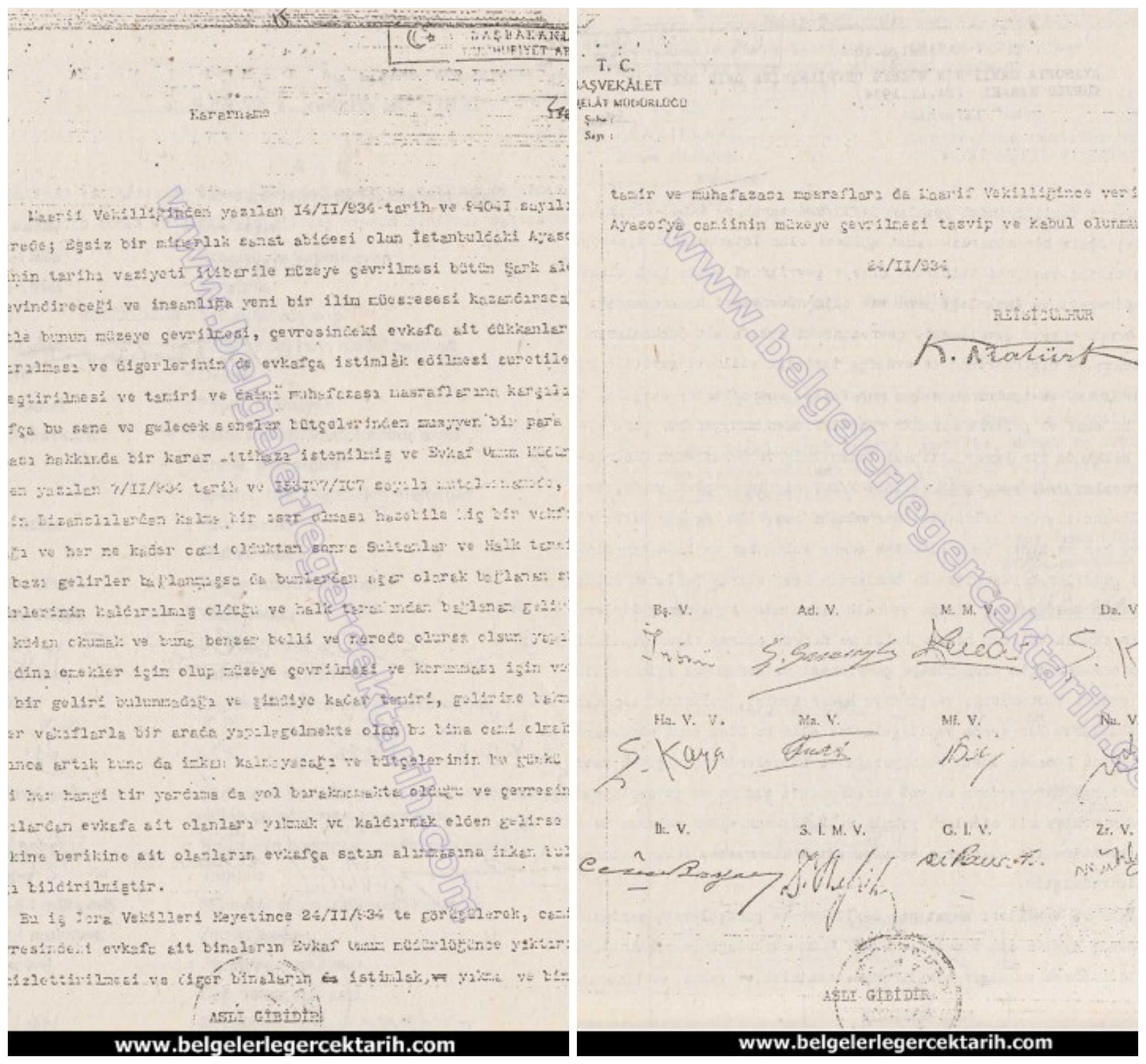"""Αγιά Σοφιά: Η μαρτυρία για τον Κεμάλ Ατατούρκ – """"Ήθελε να την κάνει μουσείο"""""""