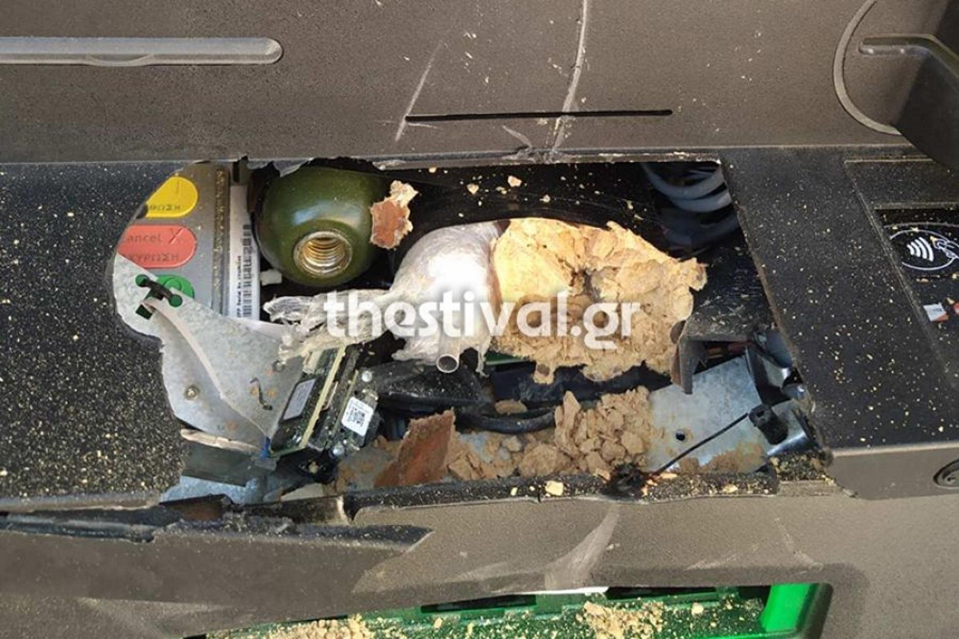 Χαλκιδική: Εξουδετερώθηκε βόμβα σε ΑΤΜ – Μία σύλληψη μετά από καταδίωξη