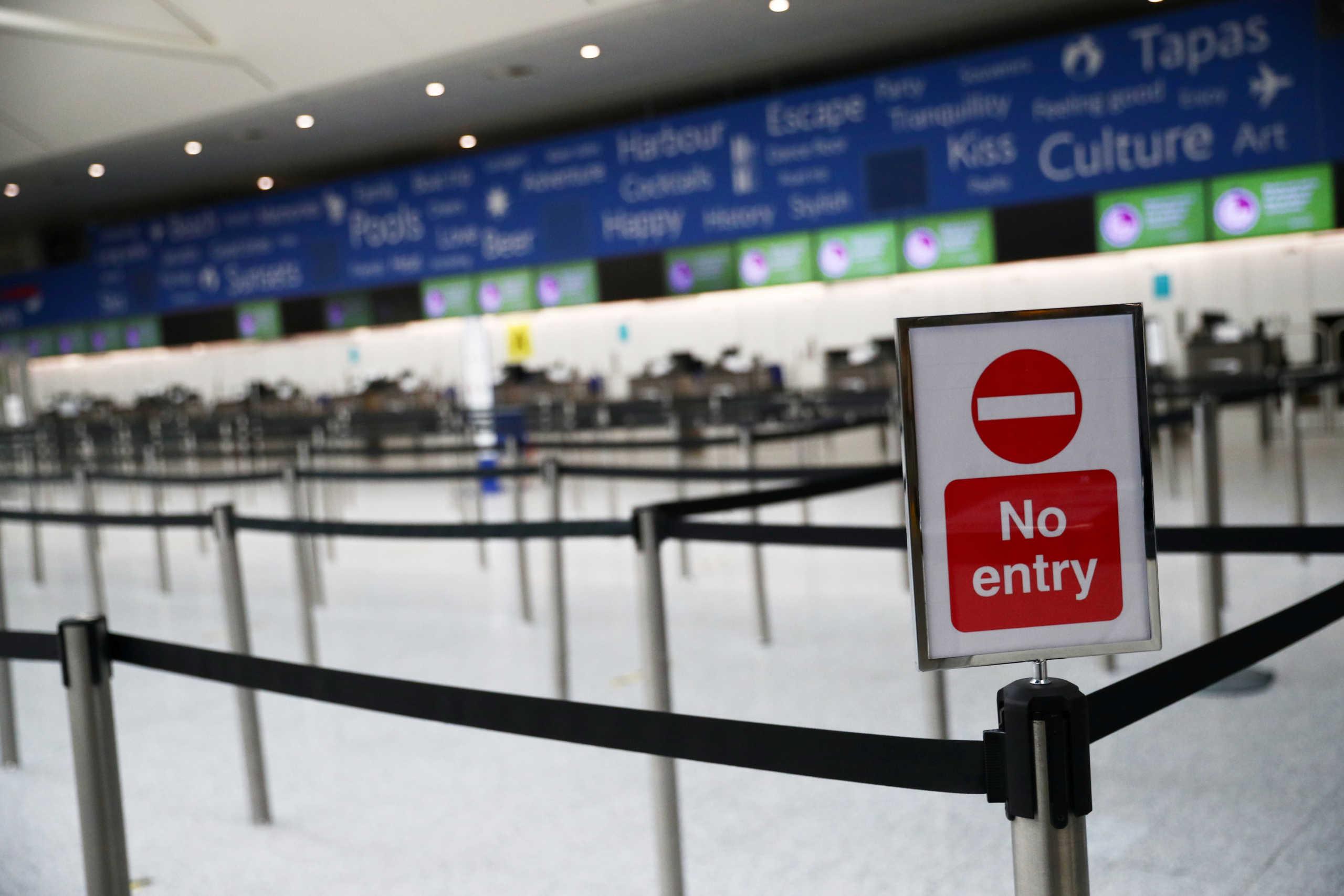Βρετανία: Έρχεται 10ήμερη καραντίνα σε ξενοδοχεία, στους ταξιδιώτες το κόστος