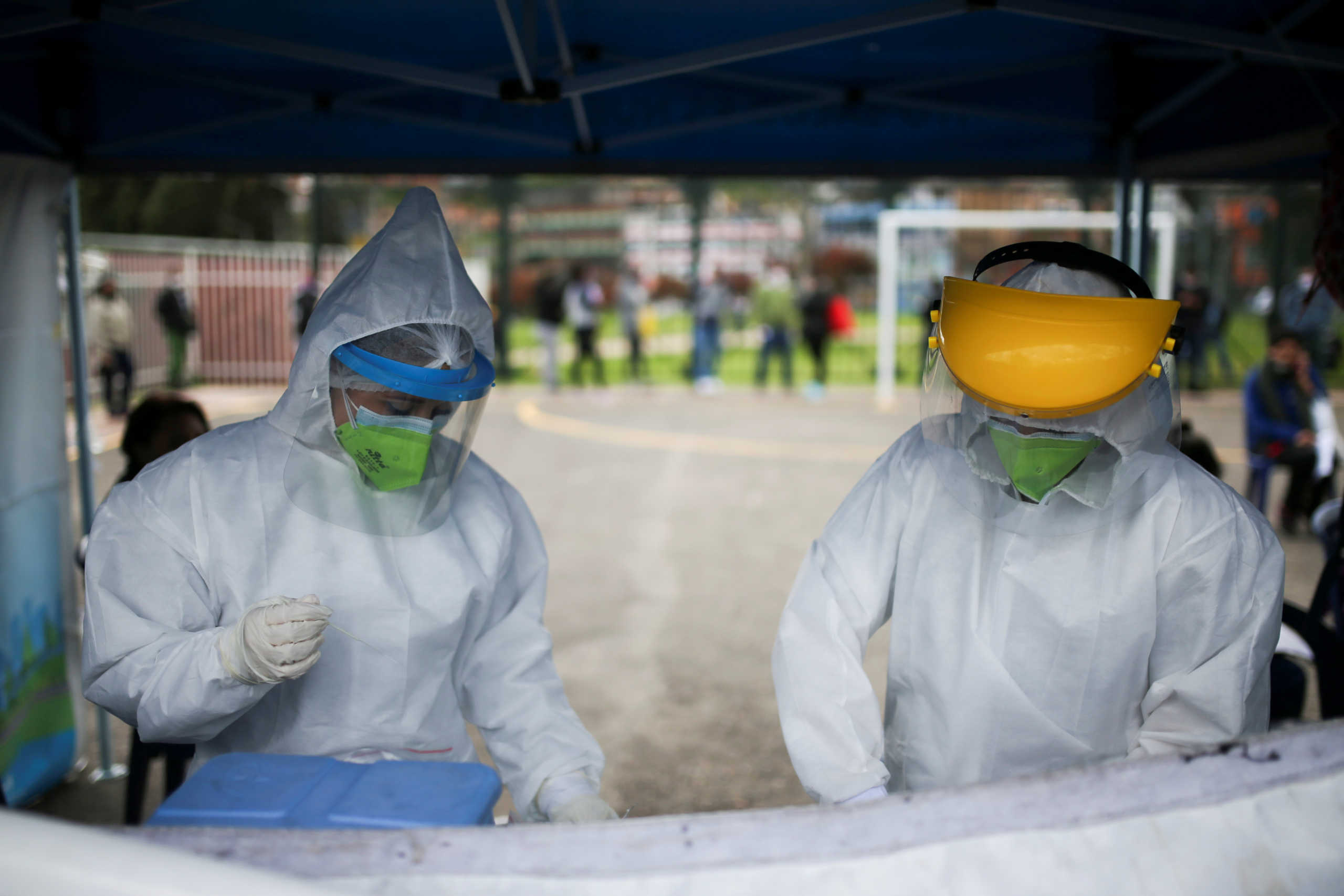 Κολομβία: Πάνω από 40.000 νεκροί από τον κορονοϊό