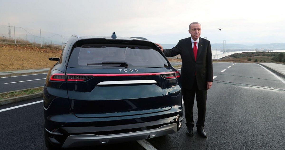 Ο Ερντογάν θεμελίωσε το εργοστάσιο για το πρώτο τουρκικό ηλεκτρικό αυτοκίνητο