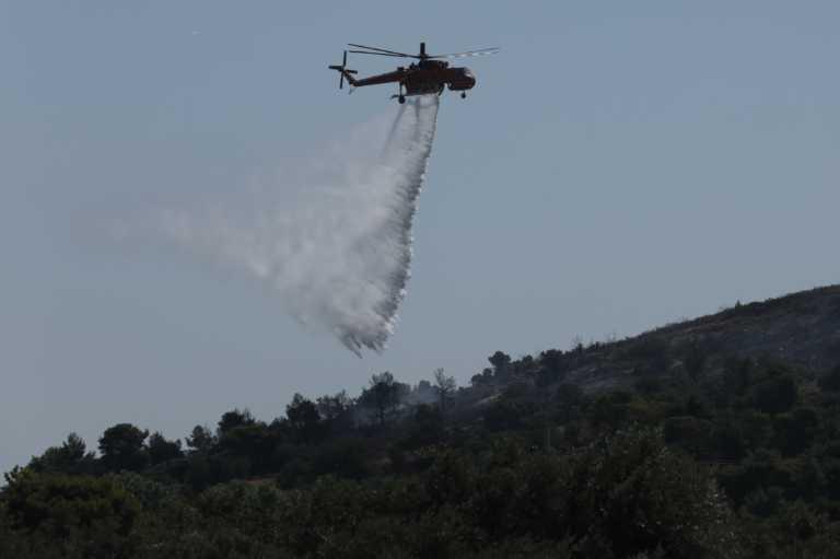 Τρεις φωτιές στην Κρήτη! Απειλούνται σπίτια στην Κνωσό