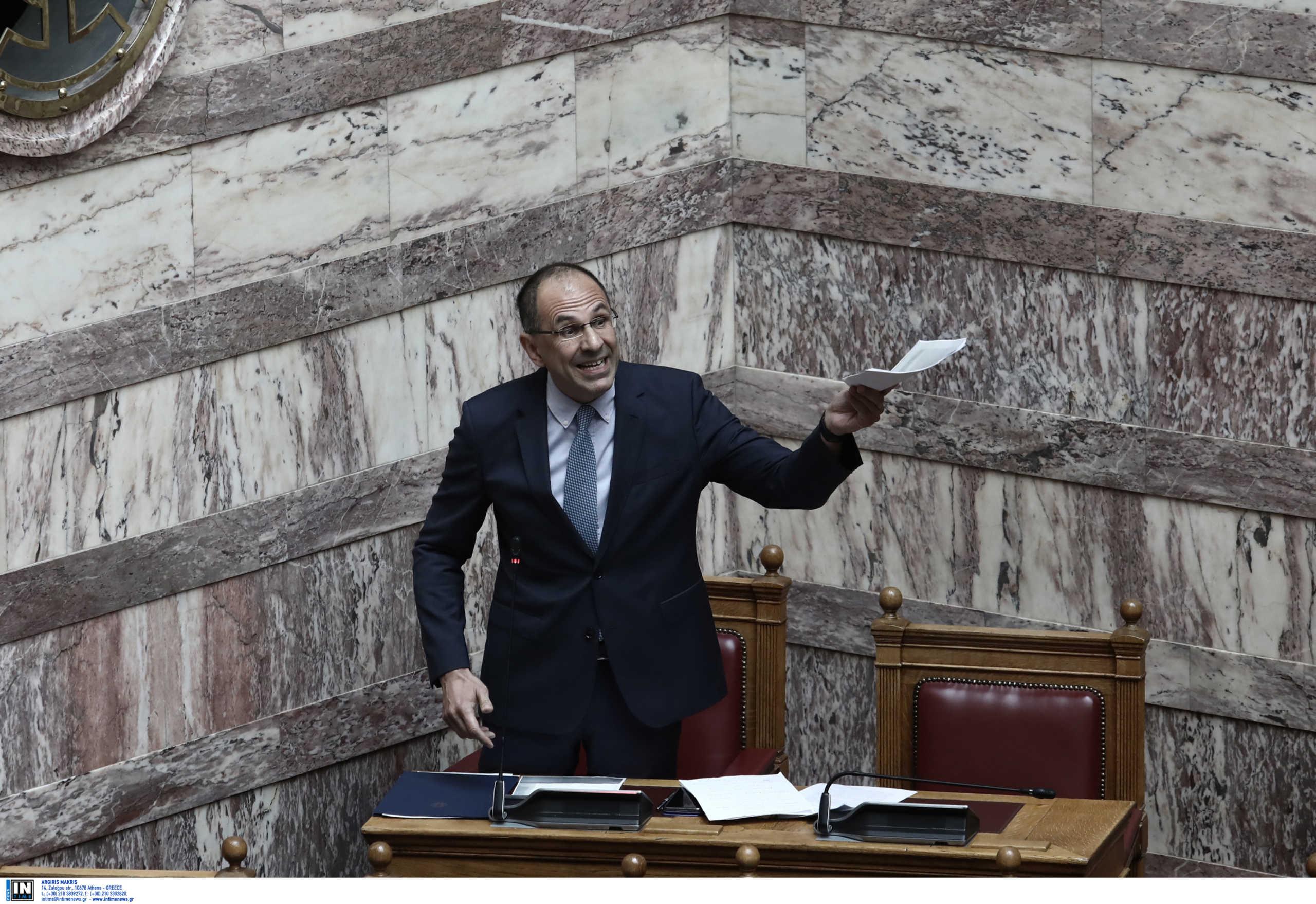 Άγρια κόντρα Τσίπρα – Γεραπετρίτη στην Βουλή