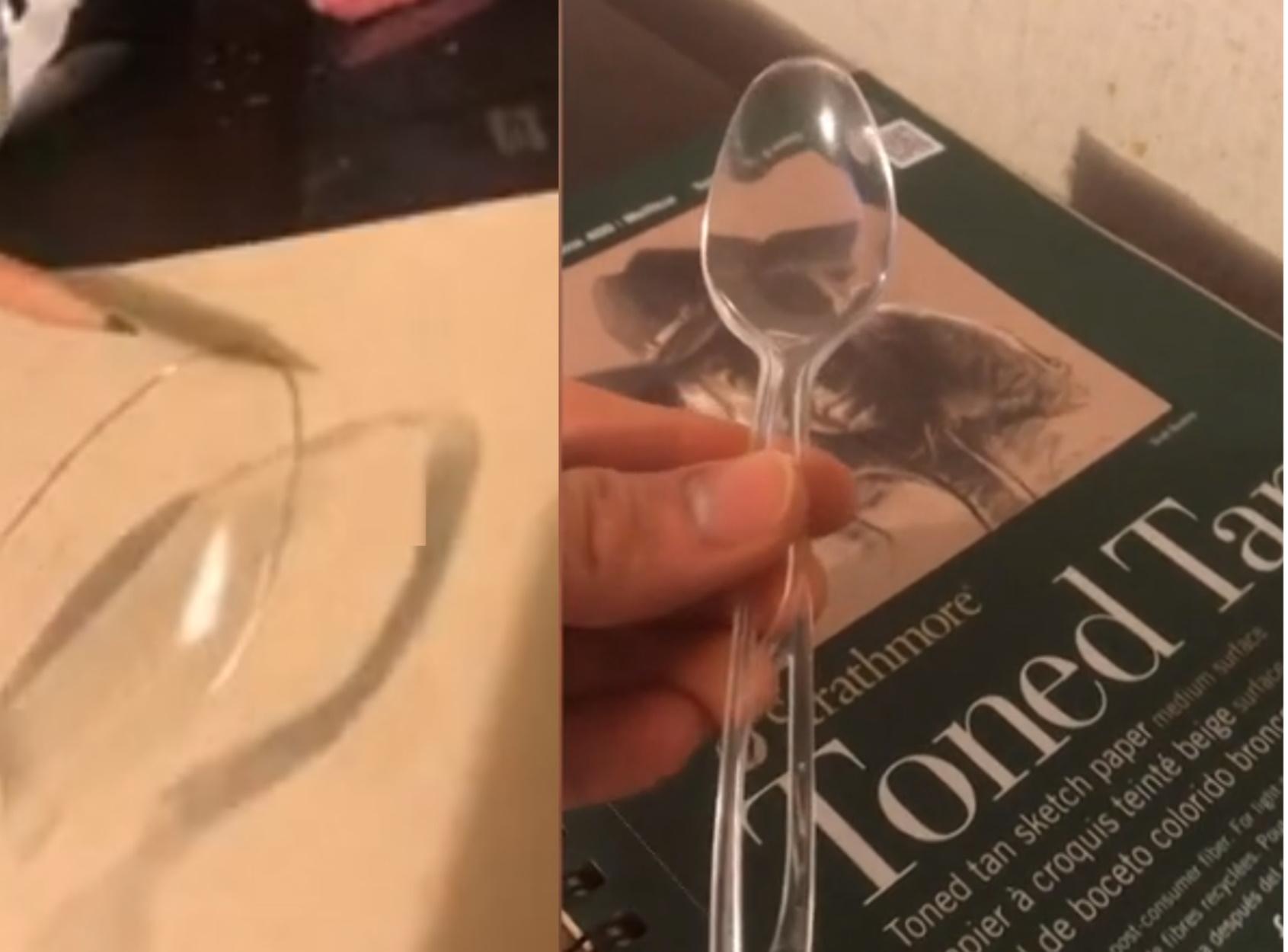 Καλλιτέχνης σχεδιάζει ρεαλιστικό κουτάλι – Πρόσεξε με τι θα φας τη σούπα σου!