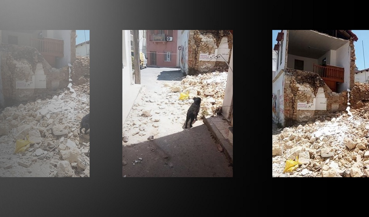 Κρήτη: Κατέρρευσε σπίτι στην Αγία Τριάδα!