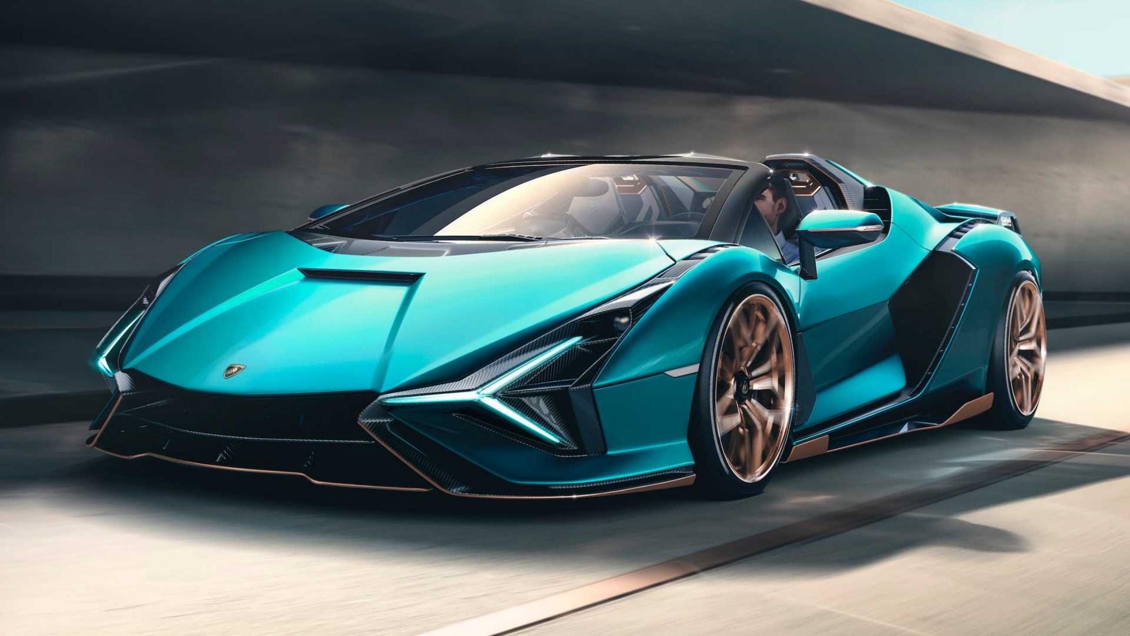 Lamborghini Sian Roadster: Εντυπωσιακή και σπάνια