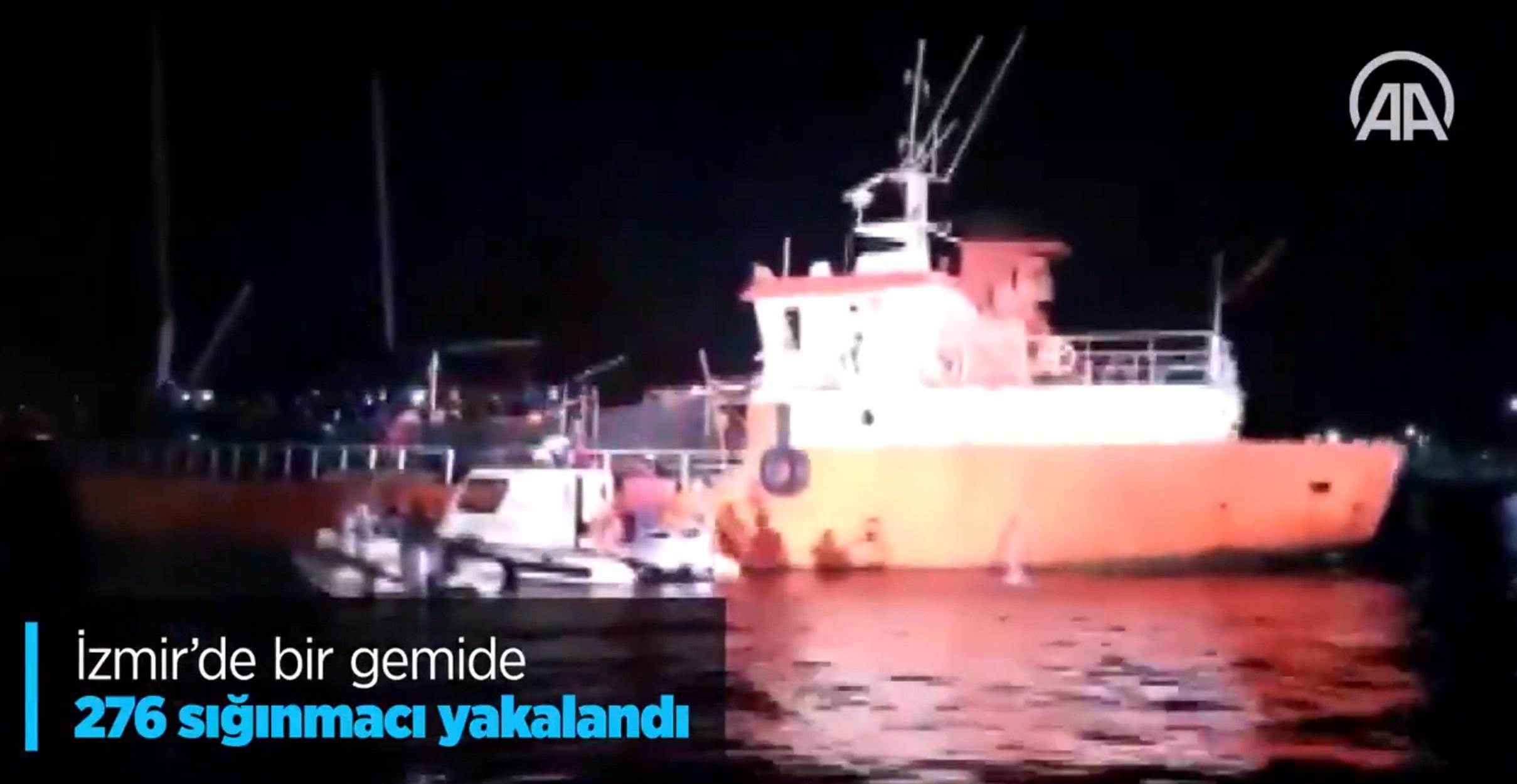 Τουρκία – απίστευτο! Σταμάτησαν πλοίο με εκατοντάδες μετανάστες για την Ελλάδα (pic, video)