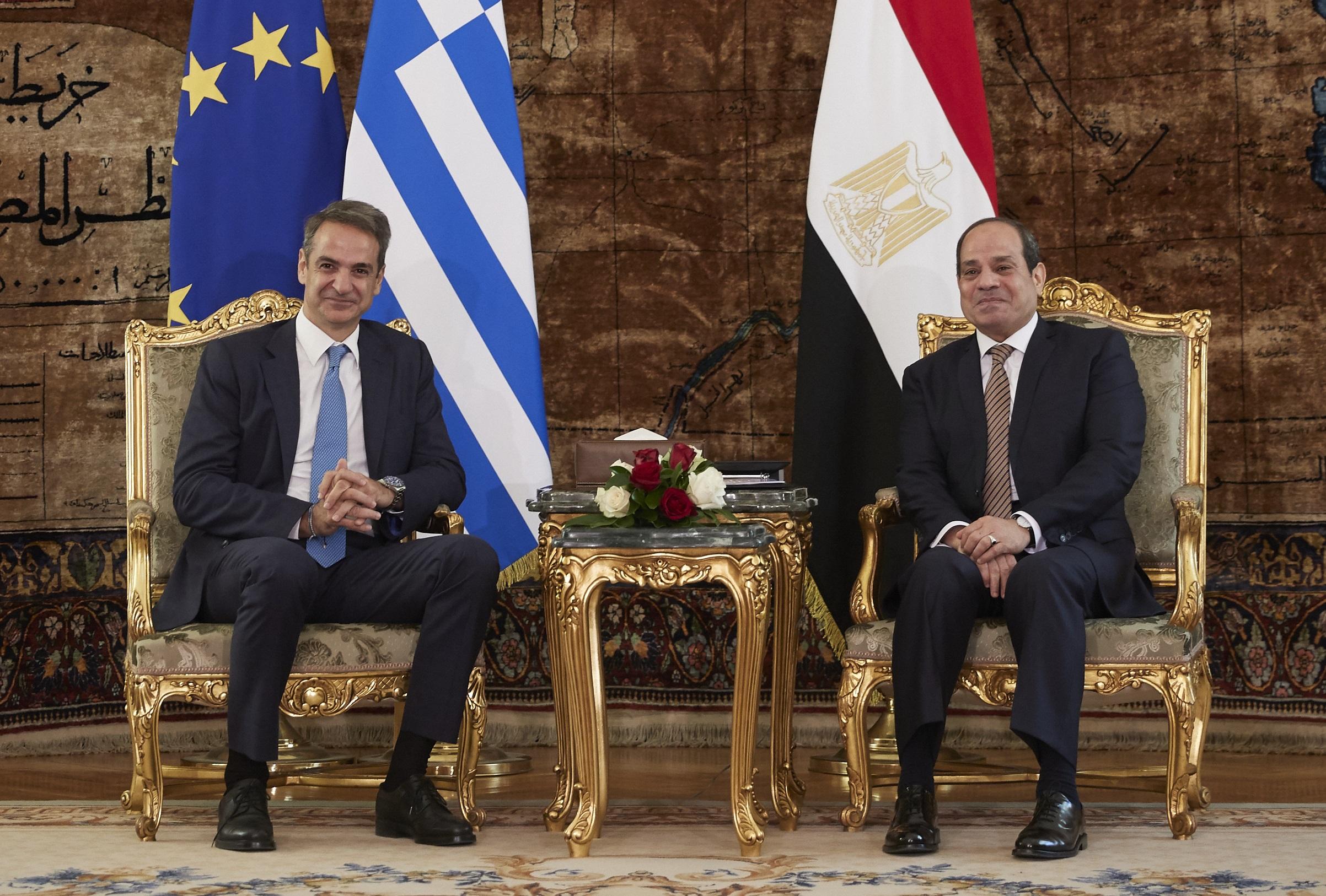 Στην Αίγυπτο ο Μητσοτάκης