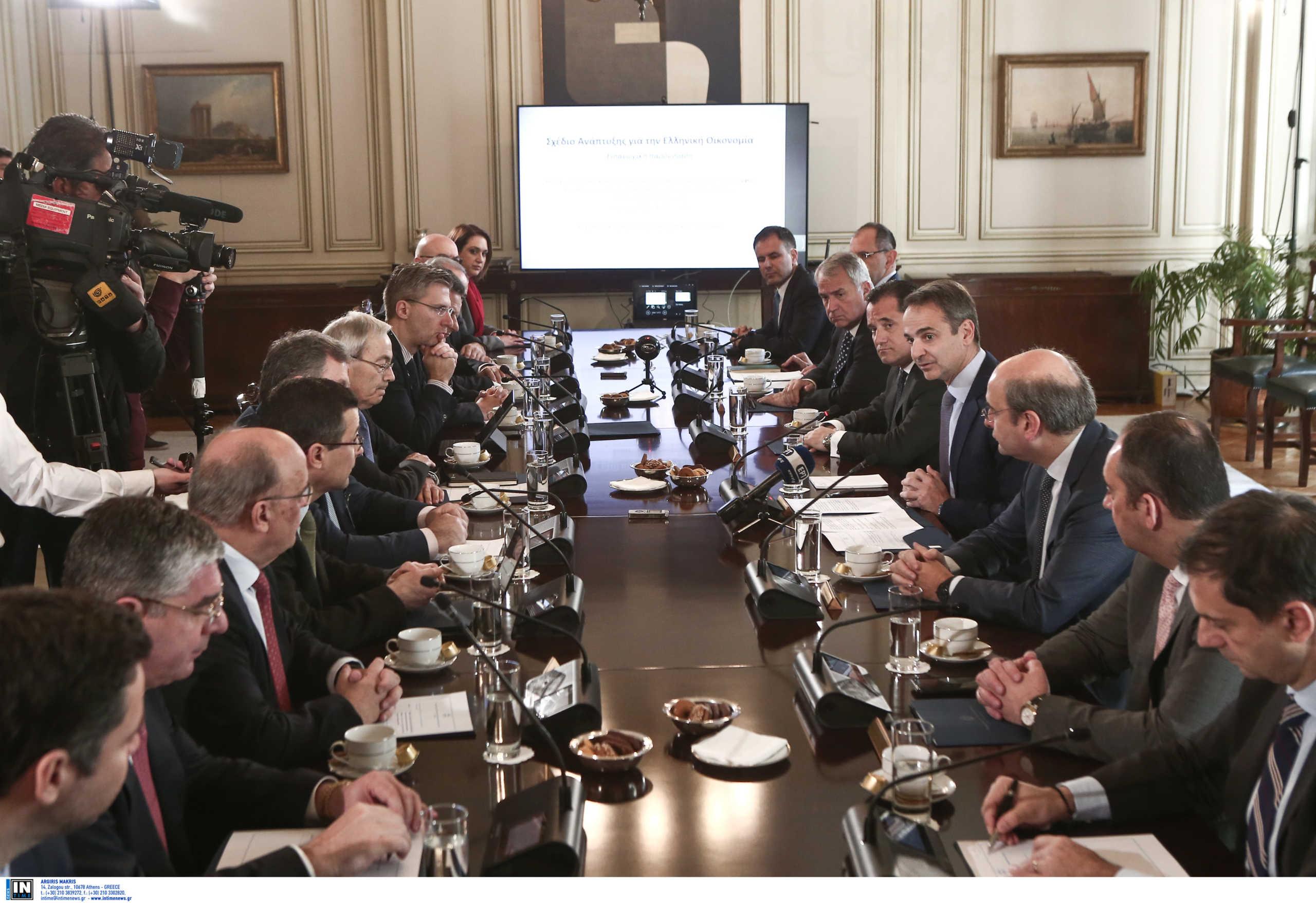 Αυτά προτείνει στο Μαξίμου η επιτροπή Πισσαρίδη για να «ξαναζωντανέψει» η οικονομία