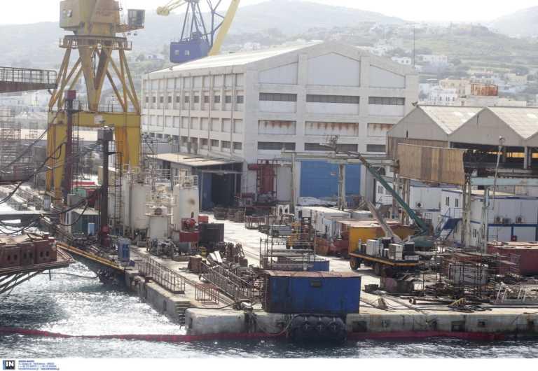 Σαλαμίνα: Εργατικό ατύχημα σε ναυπηγείο
