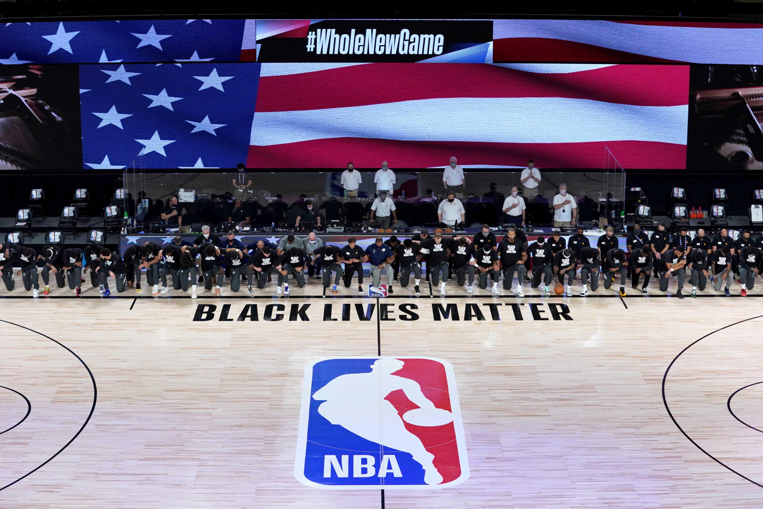 Επανεκκίνηση με διαμαρτυρία Black Lives Matter στο NBA – Έτσι αντέδρασαν οι παίκτες (video)