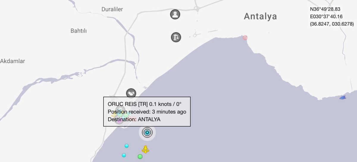 Πόλεμος νεύρων και «παιχνίδια» με το Oruc Reis – Διέγραψαν το tweet πως άρχισαν οι έρευνες!