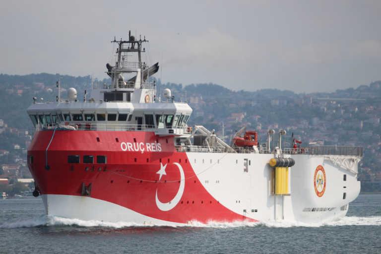 Το Oruc Reis κατευθύνεται και πάλι προς την Ελληνική υφαλοκρηπίδα