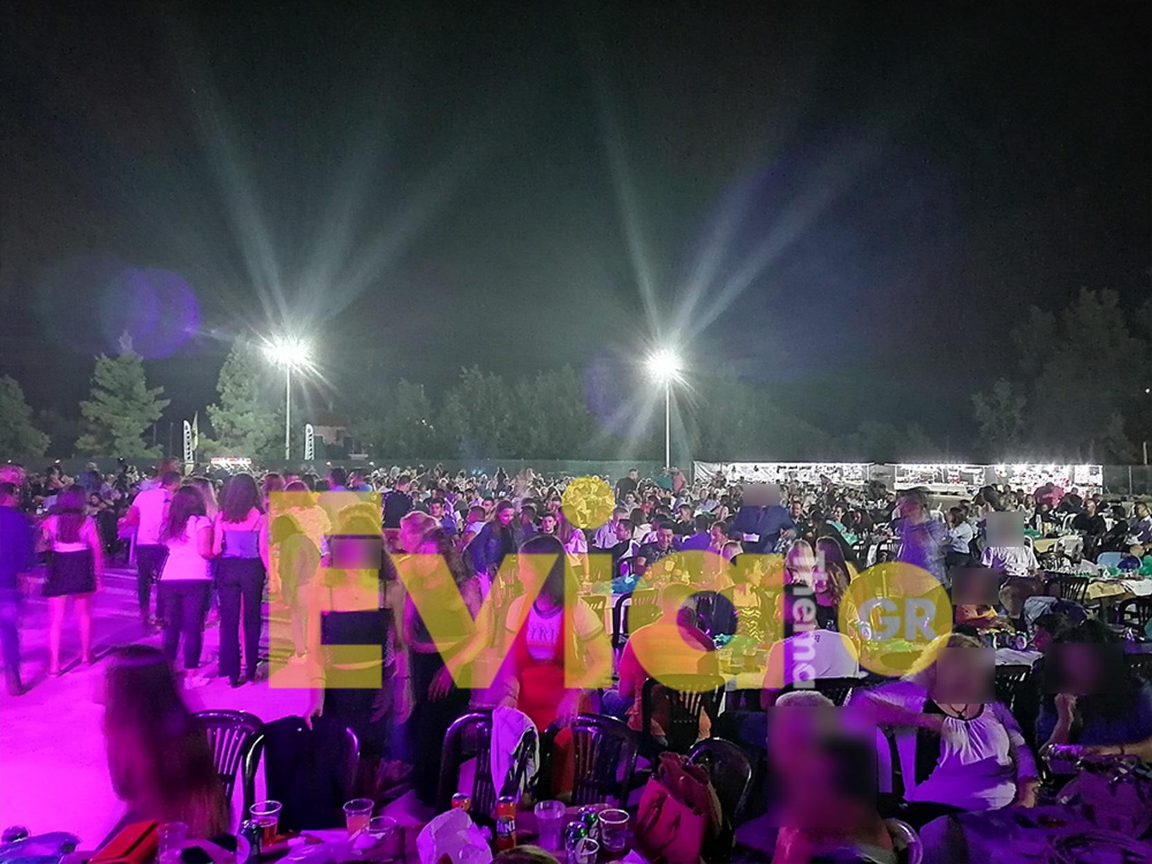 """Εύβοια: Πάνω από 2.000 """"παρουσίες"""" στο πρώτο μεγάλο πανηγύρι (pics, video)"""