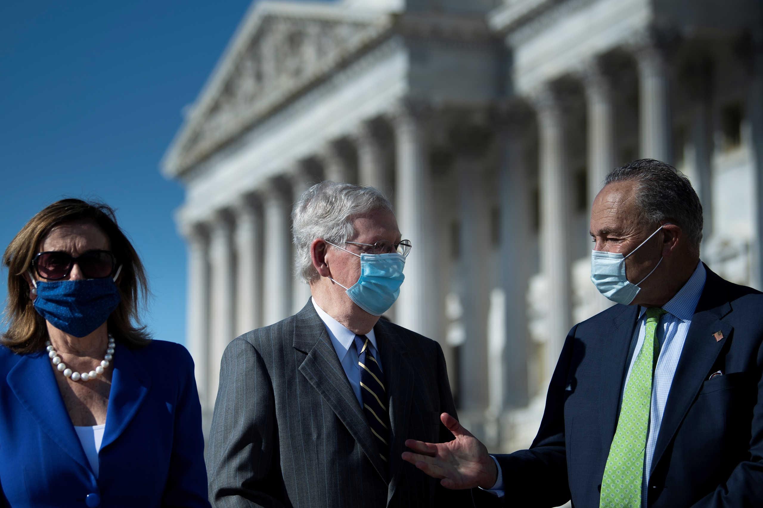 Συναγερμός στο Κογκρέσο: 13 κρούσματα και η Πελόζι διέταξε… υποχρεωτική μάσκα
