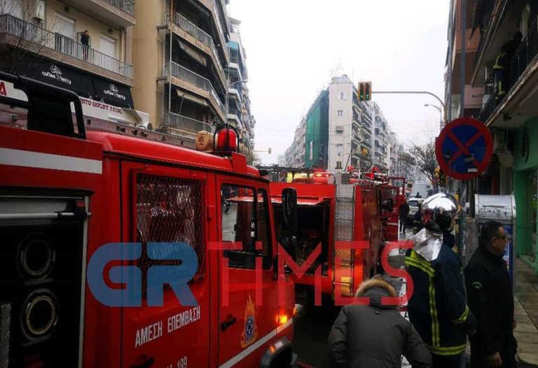 Θεσσαλονίκη: Φωτιά σε διαμέρισμα στις Συκιές!