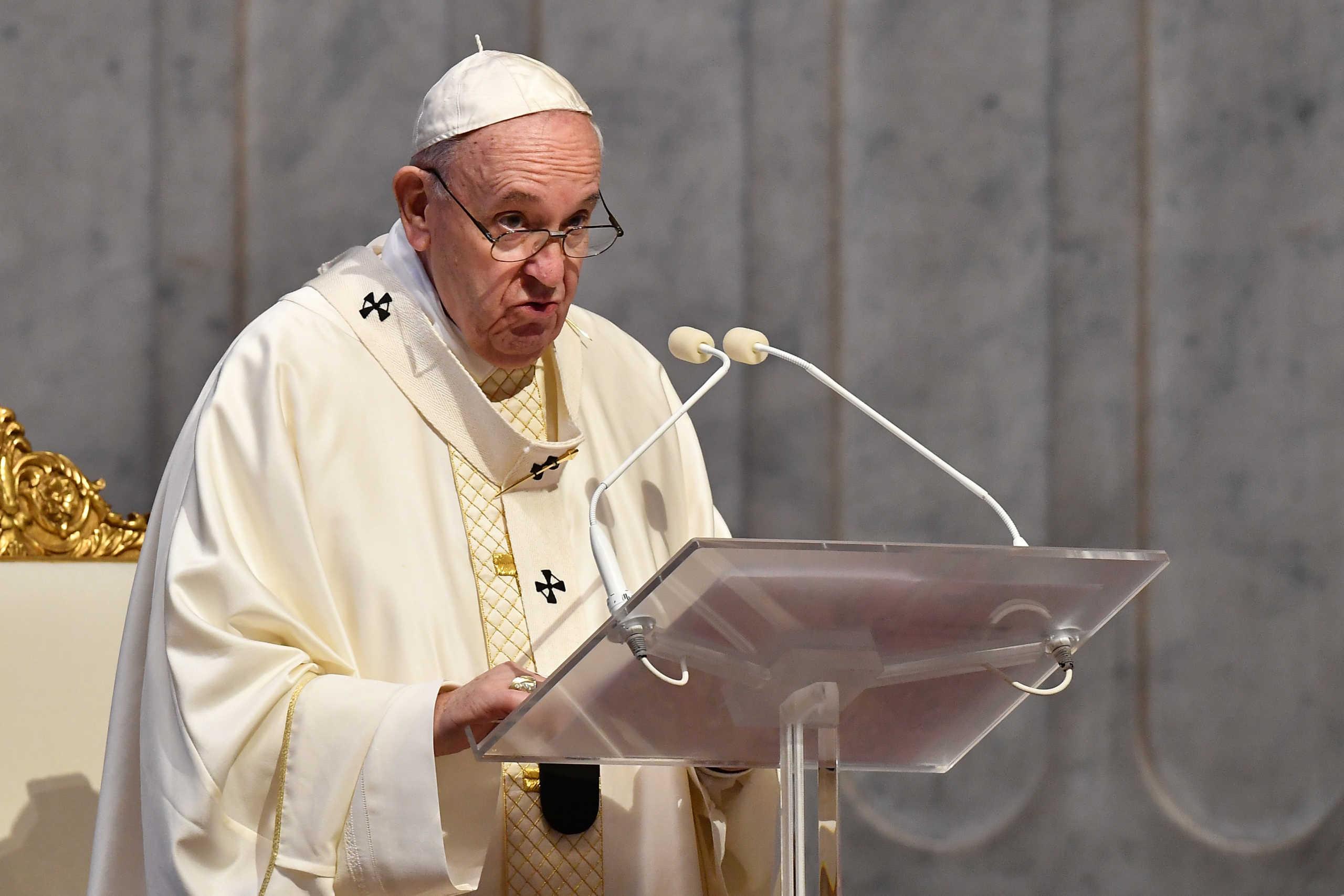 Ο Πάπας παίρνει θέση για την Αγιά Σοφιά: Νιώθω μεγάλο πόνο