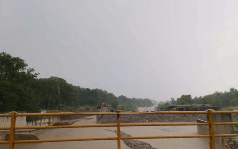 Σχεδόν ξεχείλισε ο Πηνειός Ιούλιο μήνα - Πλημμύρισαν περιοχές